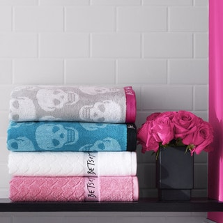 Betsey Johnson Jacquard 3-Piece Towel Set