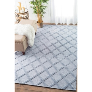 nuLOOM Trellis Tone on Tone Fancy Grey Rug (8'6 x 11'6)