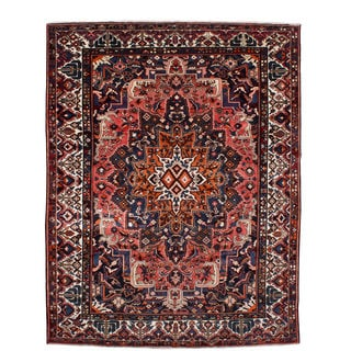 Ecarpetgallery Hand-knotted Persian Bakhtiar Brown Wool Rug (10'1 x 12'8)