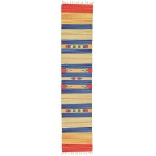 Unique Loom Istanbul Kilim Dhurrie Runner Rug - 2' 0 x 9' 2
