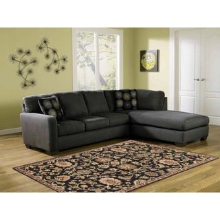 Hand-tufted Truth Ebony New Zealand Wool Rug (7'6 x 9'6)