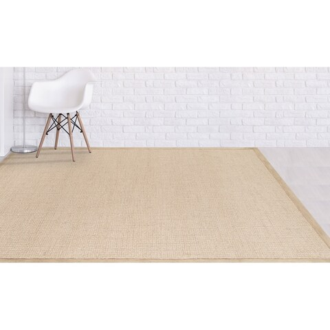 "Hand-tufted Ada Dove Grey New Zealand Rug - 7'6"" x 9'6"""