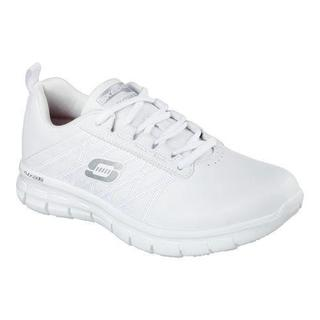 Women's Skechers Work Relaxed Fit Sure Track Erath Slip Resistant White