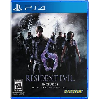 Resident Evil 6 HD-PS4