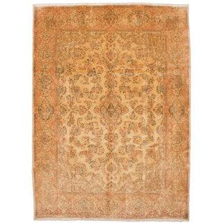 Ecarpetgallery Hand-knotted Persian Kerman Beige Wool Rug (8'9 x 12'7)