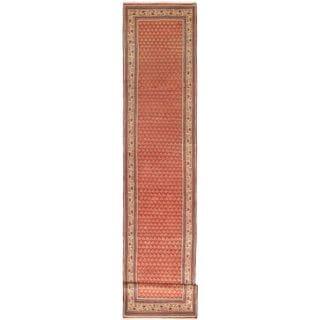 ecarpetgallery Hand Knotted Persian Arak Brown Wool Rug (2'8 x 14'7)