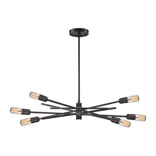 Elk Xenia 6-light Chandelier in Oil Rubbed Bronze
