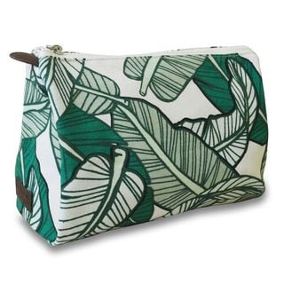 All For Color Banana Leaf Cosmetic Pouch