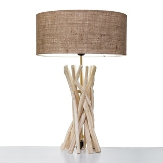SB Modern Home Nautical Driftwood Table Lamp