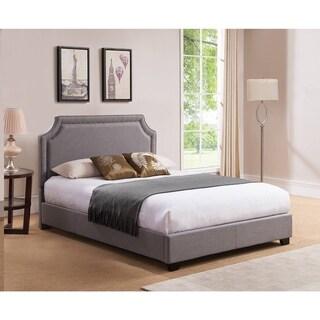 Mantua Brossard King Grey Platform Bed