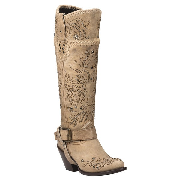 Black Star ANDROMEDA (Bone) Women's Western Fashion Boots