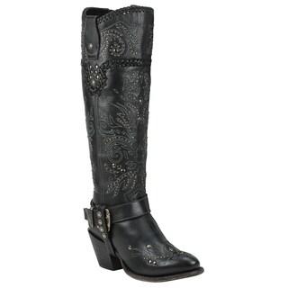Black Star ANDROMEDA (Black) Women's Western Fashion Boots