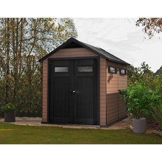 buy wood outdoor storage sheds boxes online at overstock com our