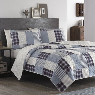 Eddie Bauer Camano Island Plum Quilt Set (3 options available)