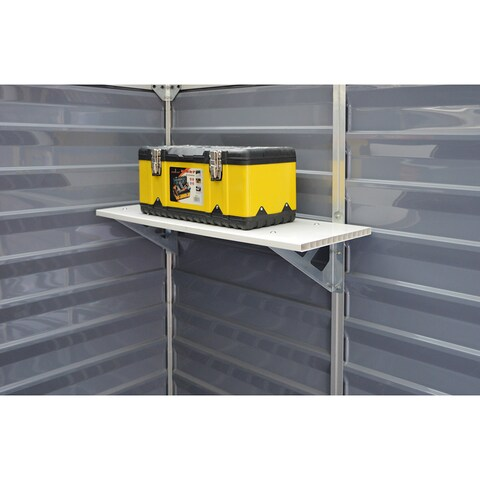 Palram Skylight Shed Storage Shelf Kit