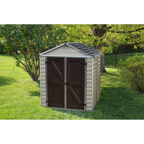 Palram Skylight Tan Shed (6' x 5')