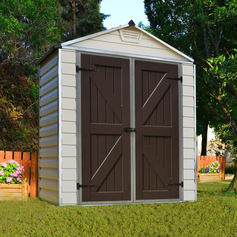 Palram Skylight Tan 6ft. x 3ft. Shed - 6 ft x 3 ft