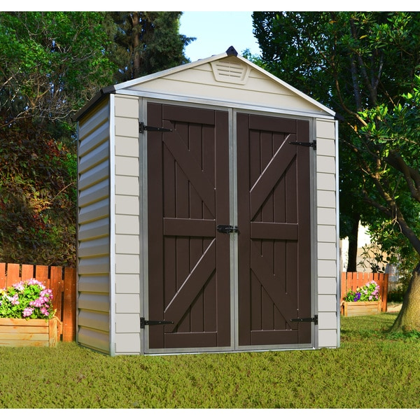 Palram Skylight Tan 6ft X 3ft Shed Free Shipping Today