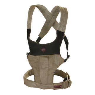Khaki Microsuede Fit Baby Carrier