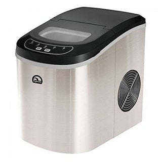 Igloo ICE102ST Stainless Steel Counter Top Ice Maker (Refurbished)