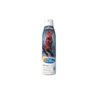 Pure Sun 6-ounce Defense Sunscreen Spray Spiderman SPF 50