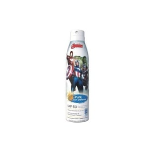 Pure Sun 6-ounce Defense Sunscreen Spray Avengers SPF 50