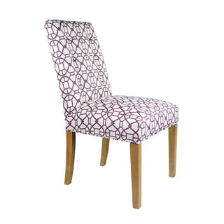 Sole Designs Kacey Noah Spring Seating Double Dow Upholstered Dining Chairs (Set of 2)