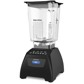 Blendtec Classic 575 Certified Refurbished Black Blender with WildSide+ Jar