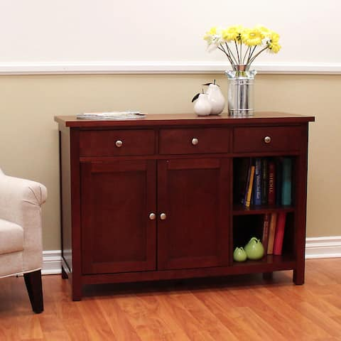 Oakdale Cherry Buffet/ Sofa Table