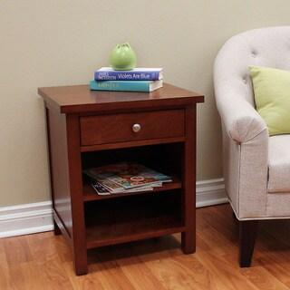 Oakdale Cherry 24-inch Side Table