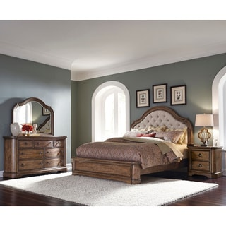 Francis Arched Brown Queen-size Bed