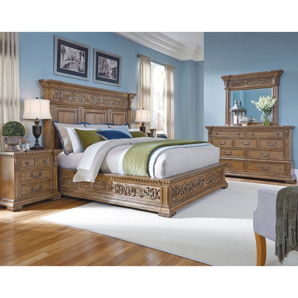 Franklin Brown King-size Bed