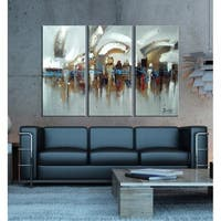 Hand-painted Abstract Human Life Painting 1190
