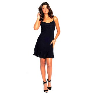 Sara Boo Shimmer Embellished Dress
