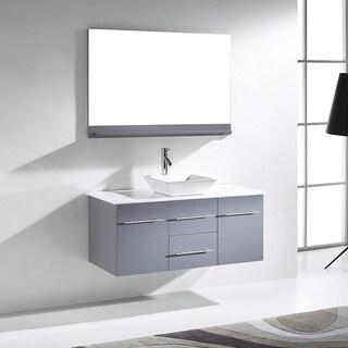 Virtu USA Marsala 48-inch Single Bathroom Vanity Cabinet Set