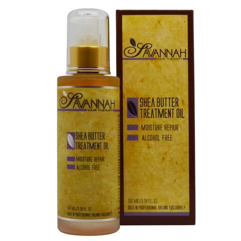 Savannah Hair Therapy Shea Butter 3.38-ounce Treatment Oil