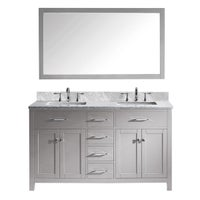 Wood Finish Bathroom Vanities