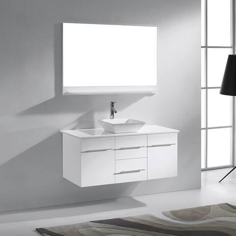 Virtu USA Marsala 48-in Single Sink Bathroom Vanity