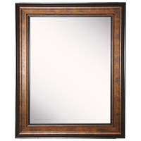 American Made Rayne Bronze and Black Vanity Wall Mirror - Bronze/Black