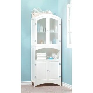 Magnolia White Wooden Storage Cabinet