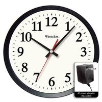"Westclox 14"" Electric Powered Office Wall Clock"