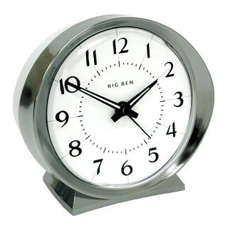 Westclox Big Ben QA White Face Bell Alarm Clock