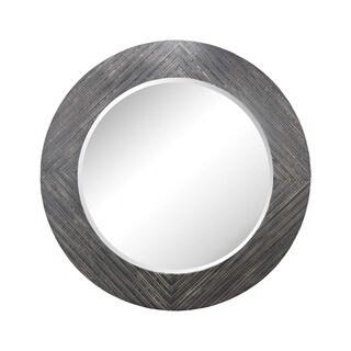 Dimond Home Blackwall Black Ash Wood Framed Wall Mirror