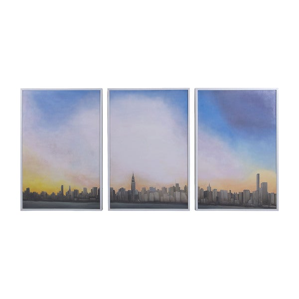 Dimond Home Manhattan Sky Tryptic Wall Art (Set of 3)