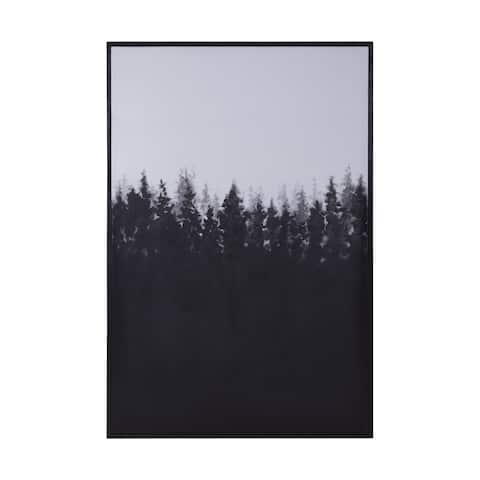 Dimond Home Night Forest Wall Art