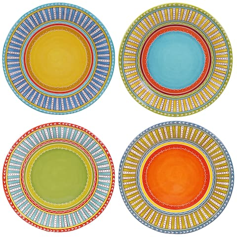 Certified International Valencia Dinner Plates (Set of 4)
