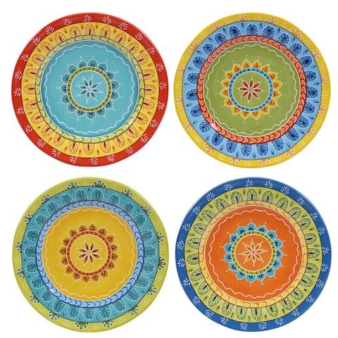 Certified International Valencia 8.75-inch Salad/Dessert Plates (Set of 4)