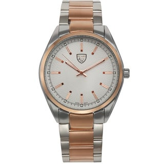 Picard and Cie Men's Labyrinth Silver-tone Rose-tone Watch
