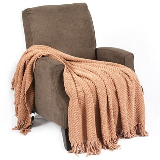 BOON Knitted Tweed Throw Couch Throw