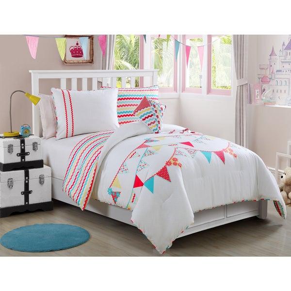 VCNY Grace 4-piece Comforter Set